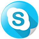 telephone, call, chat, communication, skype icon