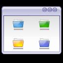 Folders, Interface, User, Window icon