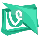 vine, social, video, glass, wine icon
