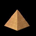 tourism, egypt, pyramid icon