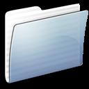 Folder, Generic, Graphite, Stripped icon