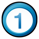 real,one,badge icon