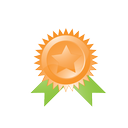 trophy, favorite, win, best, ribbon, achievement, quality, award, connection, medal, winner, star, prize, marketing, like, seo, badge icon
