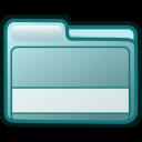 smallfolder cyan icon