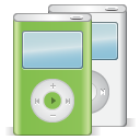 apple, ipod, festival icon