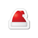 xmas, sticker icon