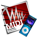 midi,ipod icon