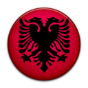 flag,albania,country icon
