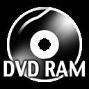 Black DVDRAM icon