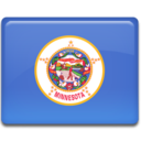 minnesota,flag icon