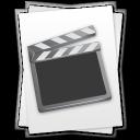 paper, video, movie, file, document, film icon
