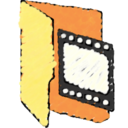 movie,folder icon