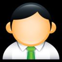 user,administrator,green icon