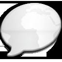 iChat Milk Black World icon