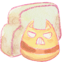 Folder cat angry icon