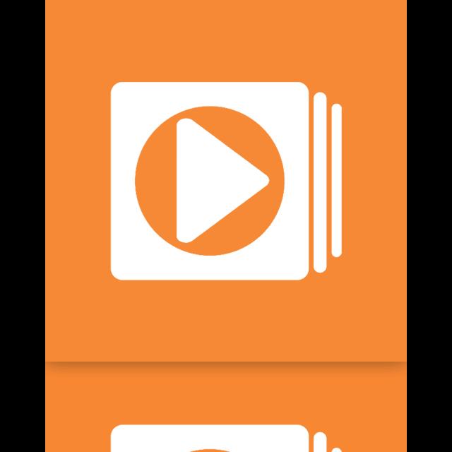 media, mirror, windows, player icon