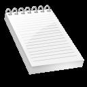 Bloc notes icon