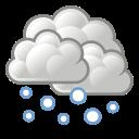 snow, weather icon