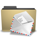 mail, manilla, folder icon