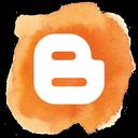 blogger, blogspot, social media, social, blog icon
