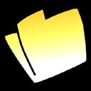 folder,yellow icon