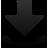decrease, fall, descend, download, down, descending icon