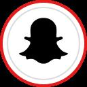 logo, social, snapchat, brand, media icon