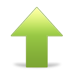 rise, upload, arrow up, up, ascending, increase, ascend, arrow icon