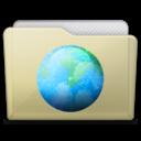 beige folder sites icon