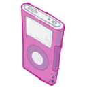 ipod,pink icon