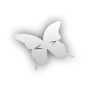 indesign, butterfly icon