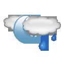 chance, shower icon