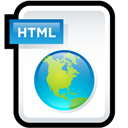 Html, Web icon
