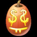 jack o lantern, easymoney, pumpkin, halloween icon