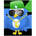 Gangsta, Twitter icon