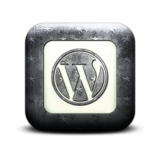 square, logo, wordpress icon