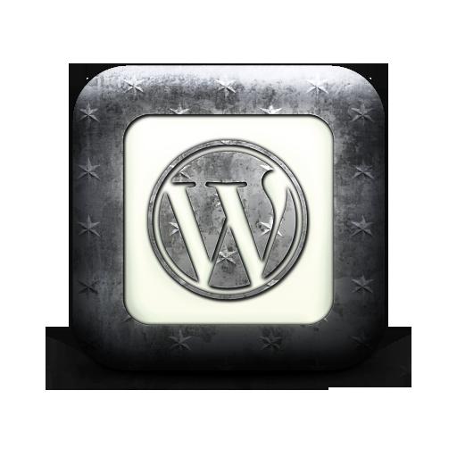 square, logo, wordpress icon