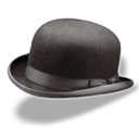 hat,bowler icon