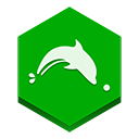 Browser, Dolphin icon