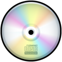 recordable, cd, disk, disc, save icon