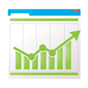 financial, chart, bar, optimizing, graphs, statistics, analytics, charts, performance, conversion tracking, tracking, graph, conversion, marketing, seo, report icon