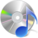 itunes, disc, music, sound icon