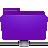 remote, violet, folder icon