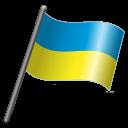 Ukraine Flag 3 icon