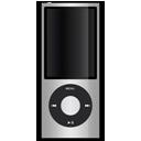 ipod, silver, apple icon