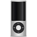 silver, ipod, apple icon