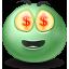 Emot, Money icon