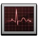 screen, activity monitor icon