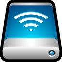 drive, storage, wireless, wifi, airport, external icon