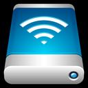 drive, storage, wireless, wifi, airport, external icon
